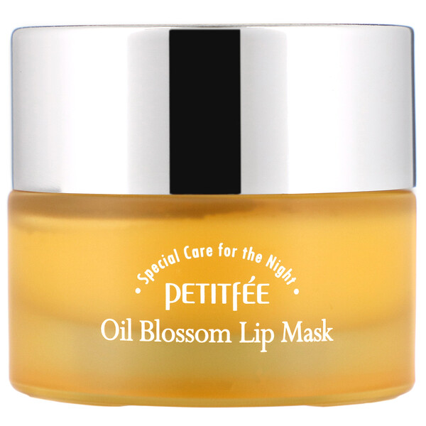 Oil Blossom Lip Mask, Sea Buckthorn Oil, 15 g