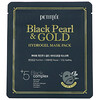 Petitfee, Black Pearl & Gold Hydrogel Beauty Mask Pack, 5 Sheets, 32 g Each