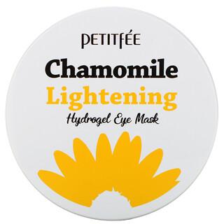 Petitfee, Chamomile Lightening, Hydrogel Eye Mask, 30 Pairs