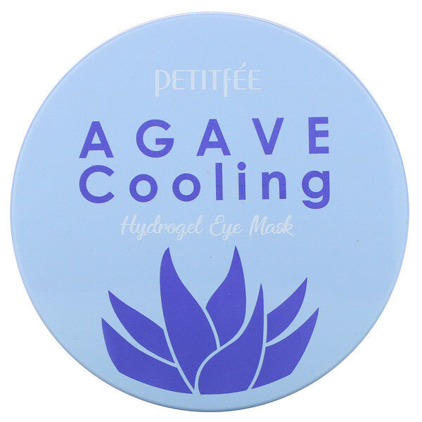 Agave Cooling, Hydrogel Eye Mask, 60 Pieces