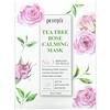 Petitfee, Tea Tree Rose Calming Beauty Mask, No. 3, 10 Sheets, 25 g Each
