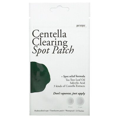 Petitfee Centella Clearing Spot Patch, 23 Patches