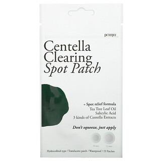 Petitfee, Centella Clearing Spot Patch, 23 Patches