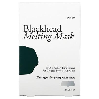 Купить Petitfee Blackhead Melting Beauty Mask, 5 Patches, 2.5 ml Each