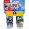 Playtex Baby, Sipsters, Thomas y sus amigos, para más de 12 meses, 2 vasos, 9 oz. (266 ml.) c/u
