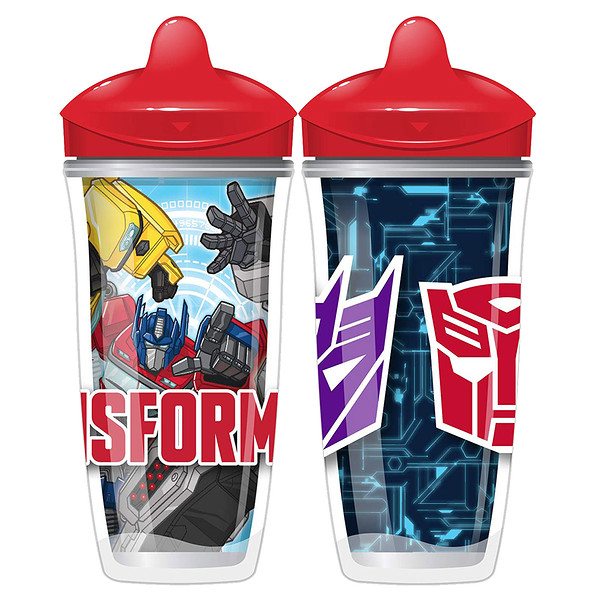 Sipsters, Transformers, 12+ Months, 2 Cups, 9 oz (266 ml) Each