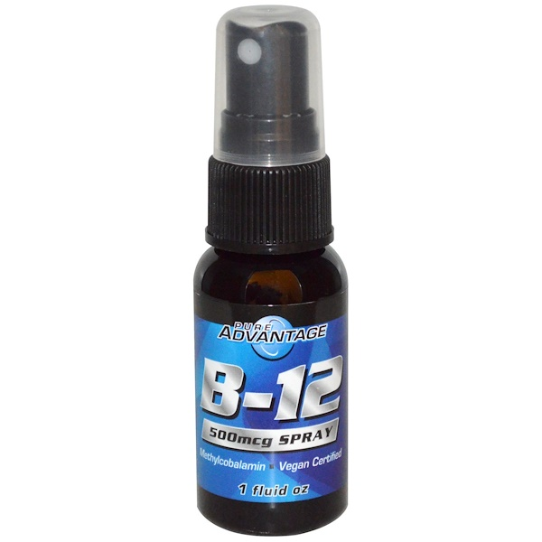 B-12 Spray, 500 mcg, 1 fl oz