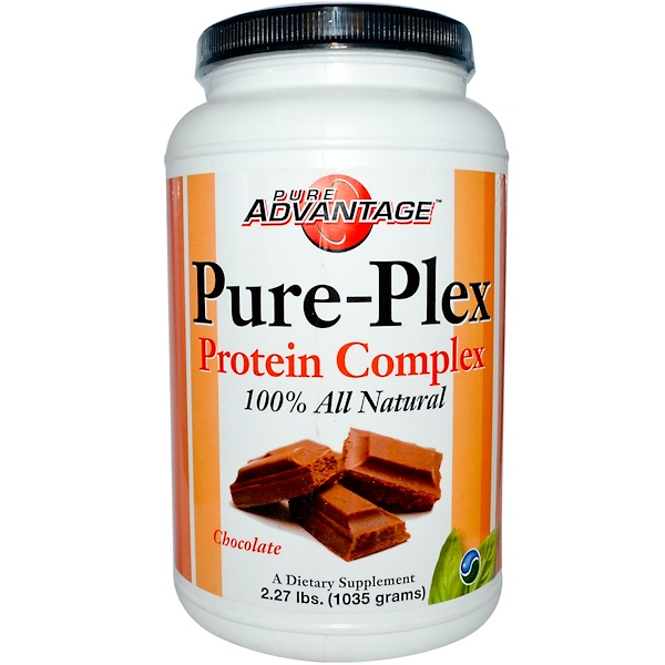 Pure Advantage, Pure-Plex Protein Complex, Chocolate, 2.27 lbs (1035 g) (Discontinued Item)