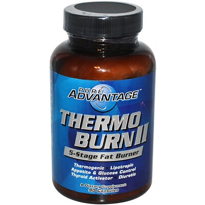 Thermo Burn II, 5-Stage Fat Burner, 90 капсул