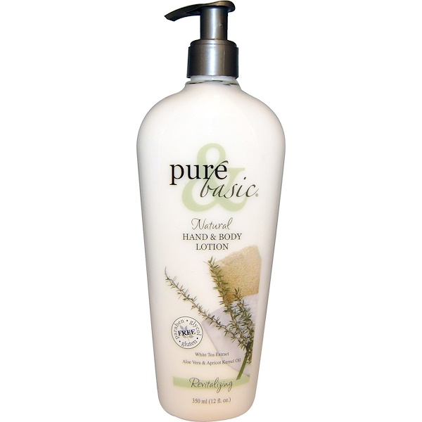 Pure & Basic, Natural Hand & Body Lotion, Revitalizing, 12 fl oz (350 ml) (Discontinued Item)