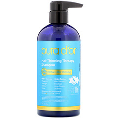 Pura D'or, 頭髮稀疏緩解洗髮水,16液量盎司(473毫升)
