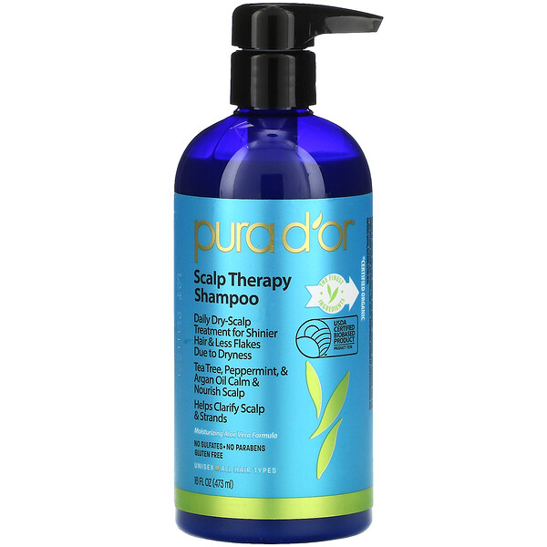 头皮护理洗发水,16液体盎司(473毫升)