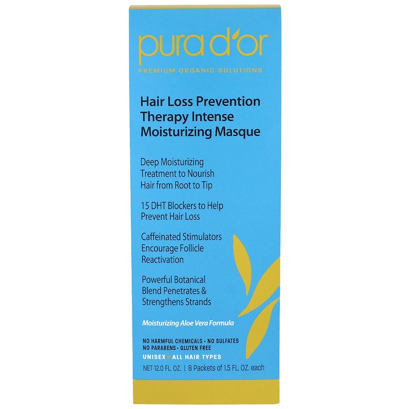 Pura D Or Hair Loss Prevention Therapy Intense Moisturizing Masque
