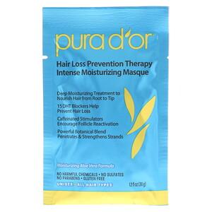 Пура Дор, Hair Loss Prevention Therapy, Intense Moisturizing Masque, 8 Packets, 1.2 fl oz Each отзывы покупателей