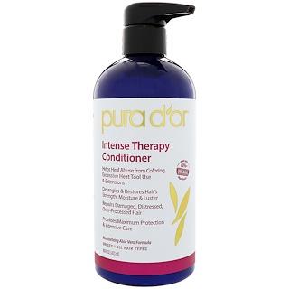 Pura D'or, Intense Therapy Conditioner, 16 fl oz (473 ml)