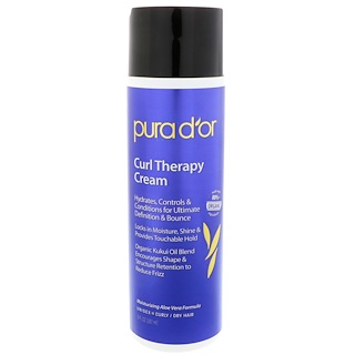 Pura D'or, Крем Curl Therapy, 8 ж. унц. (237 мл)