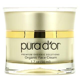 Pura D'or, GoldenGlow, ночной крем для лица, 50мл (1,7унции)