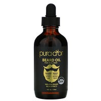 Pura D'or, Beard Oil, 4 fl oz (118 ml)