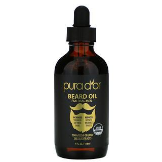 Pura D'or, Beard Oil, 4 fl oz (118 ml)