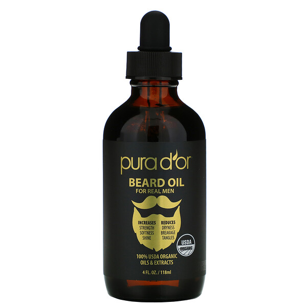Beard Oil, 4 fl oz (118 ml)