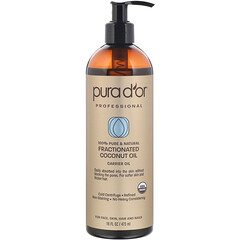 Pura D'or, 專業,分級椰子油,16 液量盎司(473 毫升)