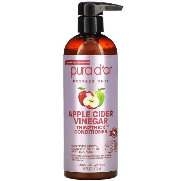 Apple Cider Vinegar, Thin2Thick, Conditioner, 16 fl oz (473 ml)