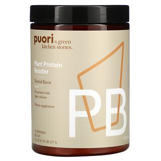 Puori, PB, Plant Protein Booster, Neutral, 0.7 lb (317 g)