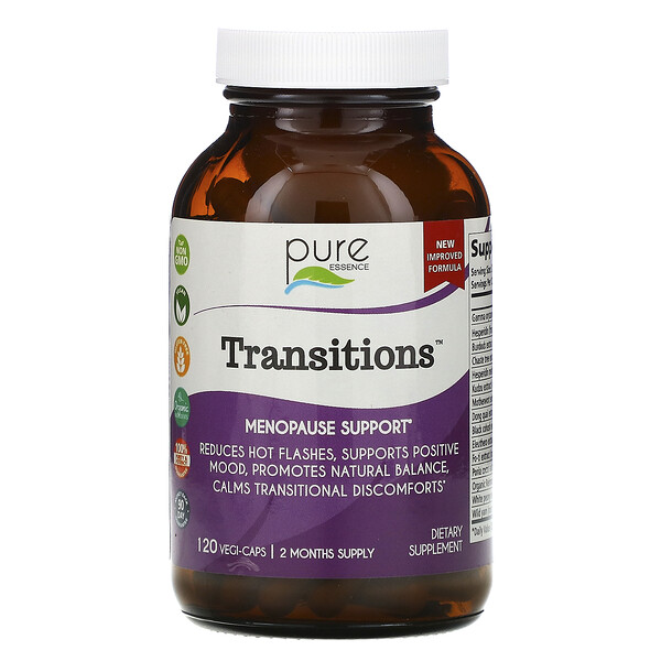 Transitions, Menopause Support, 120 Vegi-Caps