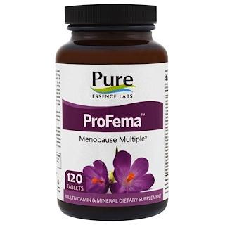 Pure Essence, ProFema, Menopause Multiple, 120 Tablets