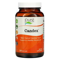 Pure Essence, Candex™ 素食膠囊,120 粒裝
