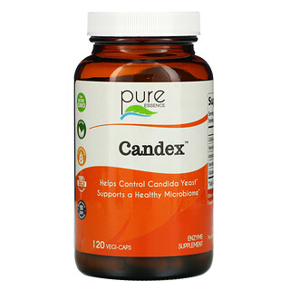 Pure Essence, Candex, 120растительных капсул
