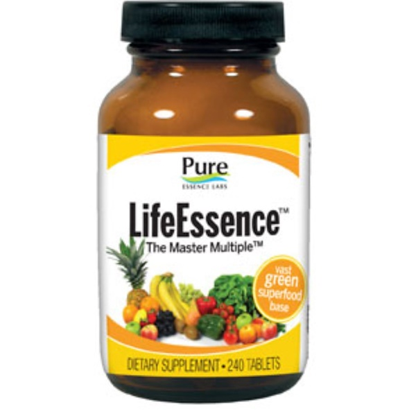 Pure Essence, Life Essence, The Master Multiple, 240 Tablets (Discontinued Item)