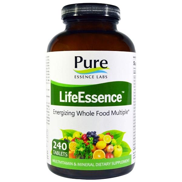 Pure Essence, LifeEssence, мультивитамины и минералы, 240 таблеток (Discontinued Item)
