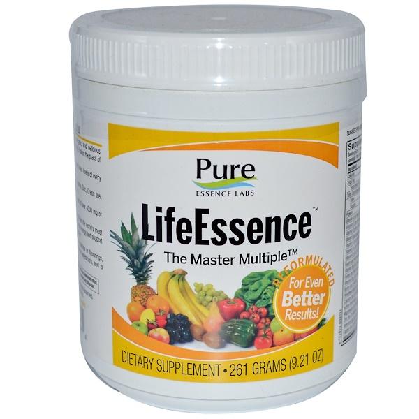Pure Essence, LifeEssence Powder, энергетический комплекс из цельных продуктов, 261 г (9,21 унция) (Discontinued Item)