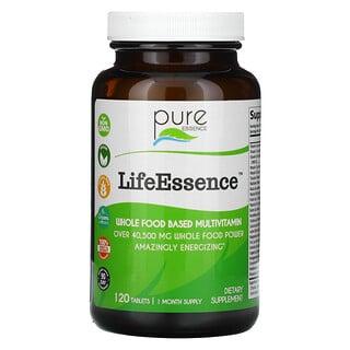 Pure Essence, LifeEssence, 120 Tablets