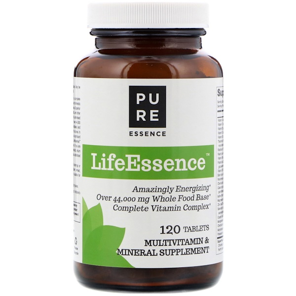 Pure Essence, LifeEssence, Multivitamin & Mineral, 120 Tablets