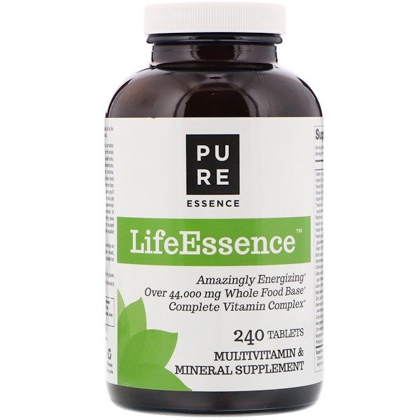 Pure Essence, LifeEssence, Multivitamin & Mineral, 240 Tablets