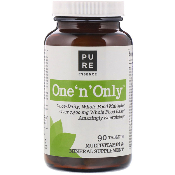 Pure Essence, One 'n' Only, Multivitamin & Mineral, 90 Tablets