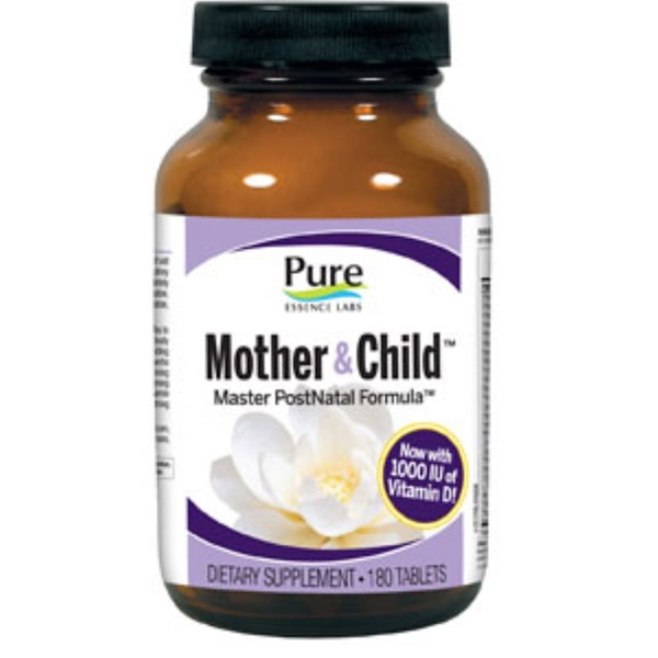 Pure Essence, Mother & Child, Master PostNatal Formula, 180 Tablets (Discontinued Item)