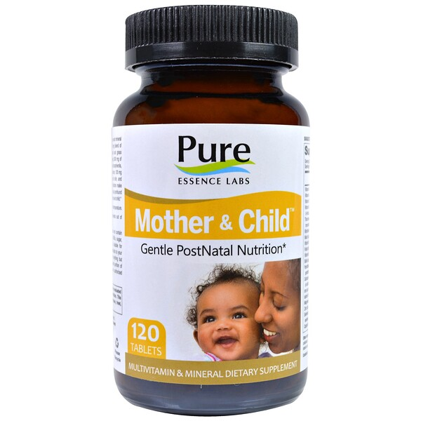 Mother & Child, Gentle PostNatal Formula, 120 Tablets
