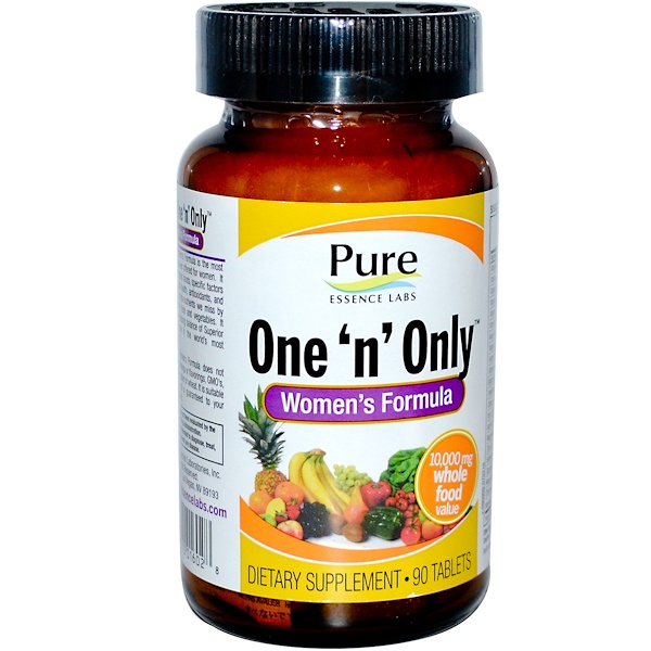 Pure Essence, One 'n' Only, Women's Formula, 90 Tablets (Discontinued Item)
