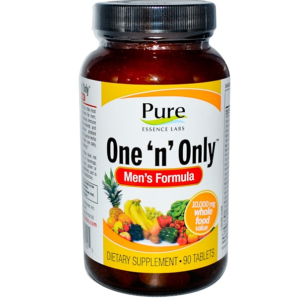 Pure Essence, One 'n' Only, Men's Formula, 90 Tablets (Discontinued Item)