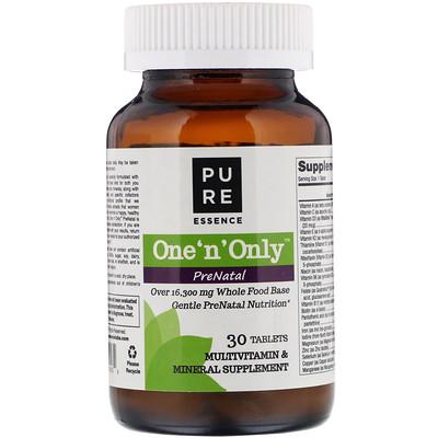 Купить One 'n' Only PreNatal, Multivitamin & Mineral, 30 Tablets