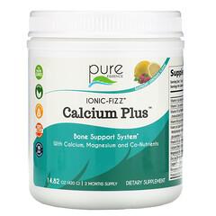 Pure Essence, Ionic-Fizz Calcium Plus,樹莓檸檬汽水,14.82 盎司(420 克)
