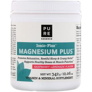 Pure Essence, Ionic-Fizz, Magnesium Plus, Sabor de Limonada com Framboesa, 12,06 oz (342 g)