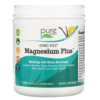 Pure Essence, Ionic-Fizz Magnesium Plus, Orange-Vanilla, 12.06 oz (342 g)