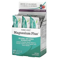 Pure Essence, Magnesium Plus, Relaxing, Anti-Stress Beverage Mix, Mixed Berry, 6.03 oz (171 g)