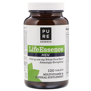 Pure Essence, LifeEssence Men, 120 Tablets