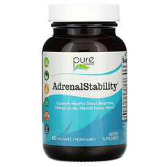 Pure Essence, AdrenalStability™ 腎上腺健康支持素食膠囊,60 粒裝