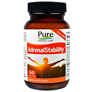 Pure Essence, AdrenalEssence, 60 Veggie Caps